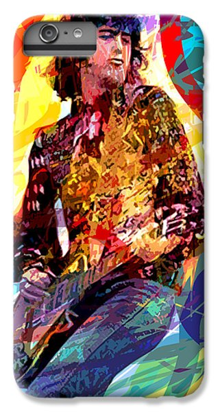 Jimmy Page Leds Lead IPhone 6 Plus Case by David Lloyd Glover