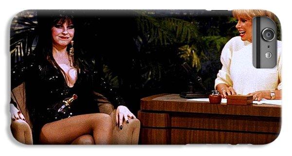 Joan Rivers And Elvira IPhone 6 Plus Case by Brian Benjamin