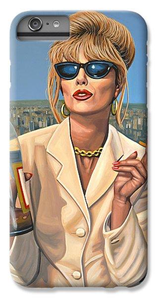 Joanna Lumley As Patsy Stone IPhone 6 Plus Case