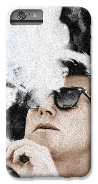 John F Kennedy Cigar And Sunglasses IPhone 6 Plus Case