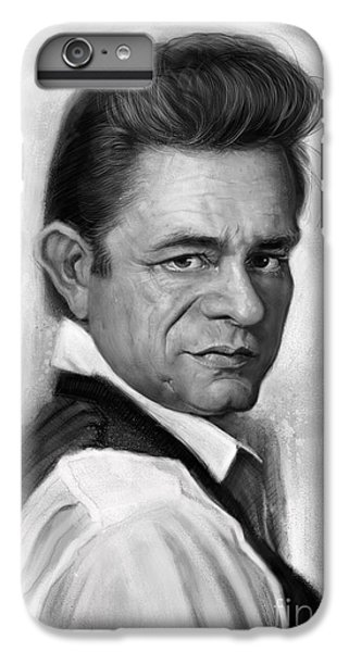 Johnny Cash IPhone 6 Plus Case by Andre Koekemoer