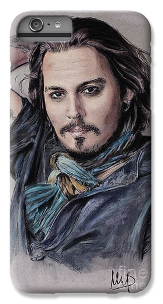 Johnny Depp IPhone 6 Plus Case by Melanie D