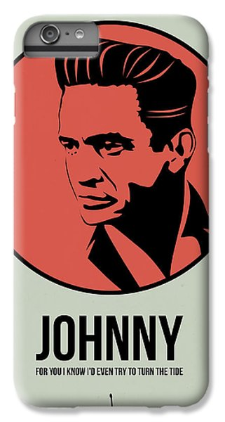 Johnny Poster 2 IPhone 6 Plus Case by Naxart Studio