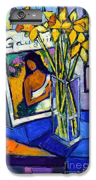 Jonquils And Gauguin IPhone 6 Plus Case