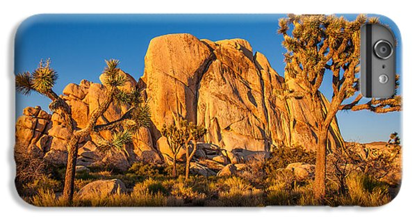 Desert iPhone 6 Plus Case - Joshua Tree Sunset Glow by Peter Tellone