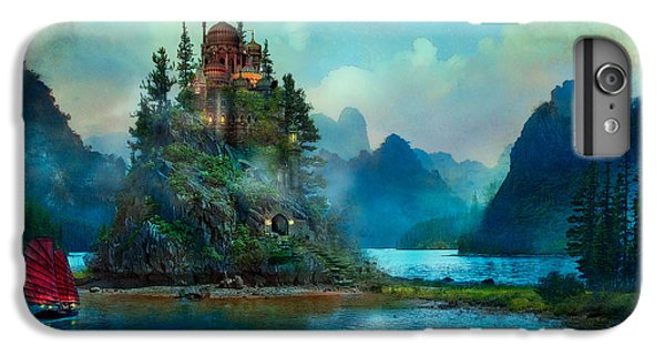 IPhone 6 Plus Case featuring the digital art Journeys End by Aimee Stewart