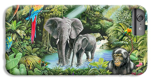 Jungle IPhone 6 Plus Case by Mark Gregory
