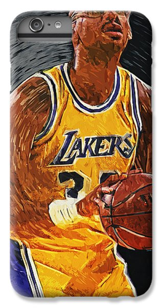 Kareem Abdul-jabbar IPhone 6 Plus Case by Taylan Apukovska