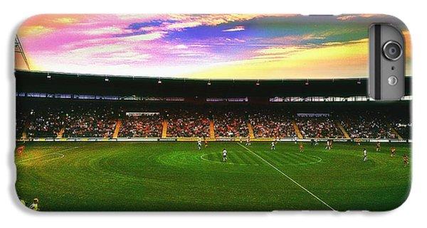 Edit iPhone 6 Plus Case - Kc Stadium In Kingston Upon Hull England by Chris Drake