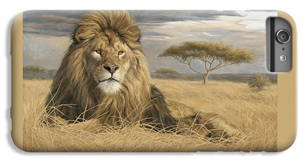 King Of The Pride IPhone 6 Plus Case by Lucie Bilodeau