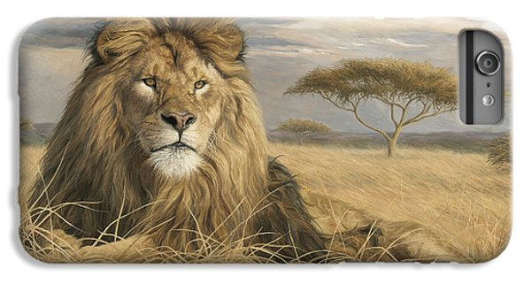 Lion iPhone 6 Plus Case - King Of The Pride by Lucie Bilodeau
