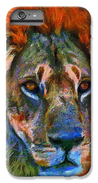 Lion iPhone 6 Plus Case - King Of The Wilderness by Georgiana Romanovna