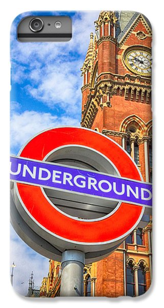 London Tube iPhone 6 Plus Case - Kings Cross Underground by Stephen Stookey