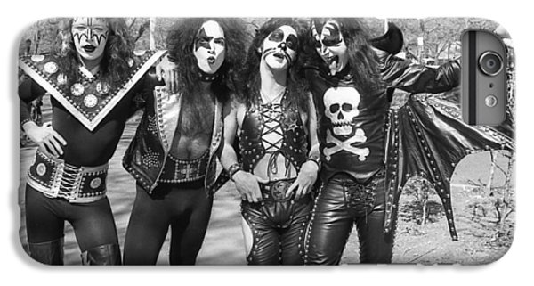 Kiss - Group Early Years IPhone 6 Plus Case by Epic Rights