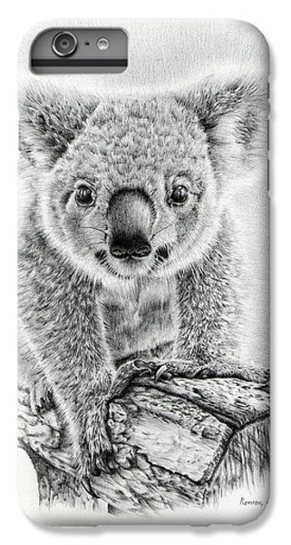 Koala Oxley Twinkles IPhone 6 Plus Case by Remrov