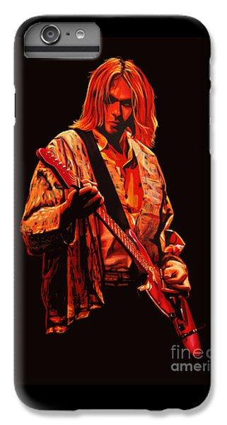 Kurt Cobain Painting IPhone 6 Plus Case by Paul Meijering