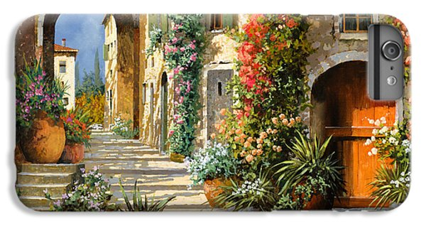 Landscape iPhone 6 Plus Case - La Porta Rossa Sulla Salita by Guido Borelli