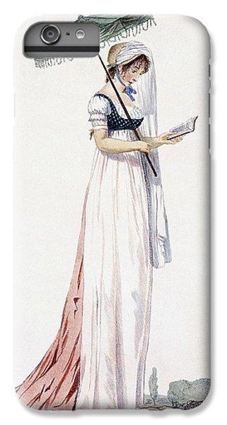 Ladies Elegant Summer Dress IPhone 6 Plus Case by English School
