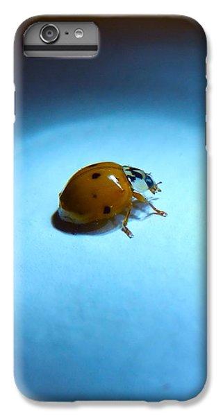 Ladybug Under Blue Light IPhone 6 Plus Case