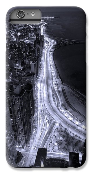 Lake Shore Drive Aerial  B And  W IPhone 6 Plus Case