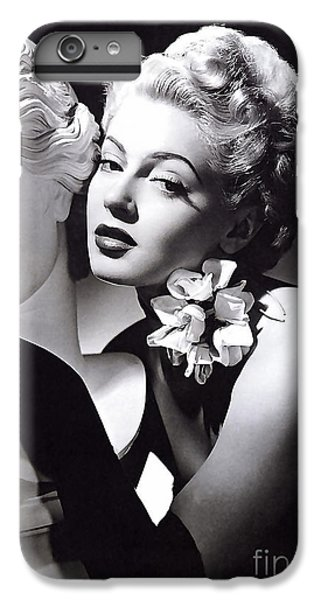 Lana Turner IPhone 6 Plus Case by Marvin Blaine