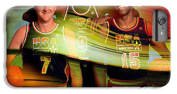 Larry Bird Michael Jordon And Magic Johnson IPhone 6 Plus Case