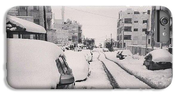 Last Snow In Amman,  Dec. 13 #beamman IPhone 6 Plus Case