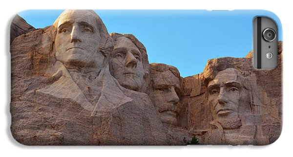 Mount Rushmore iPhone 6 Plus Case - Late Afternoon, Mount Rushmore National by Michel Hersen