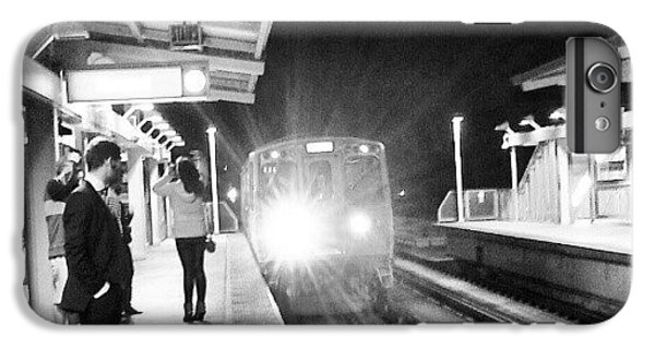 Light iPhone 6 Plus Case - Late Night On The Red Line by Jill Tuinier