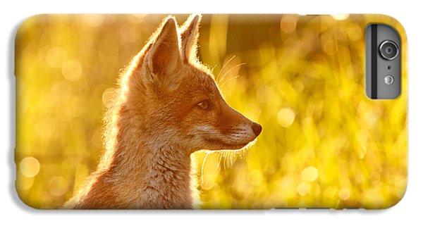 Fox iPhone 6 Plus Case - Le P'tit Renard by Roeselien Raimond