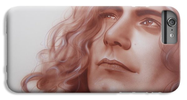 Robert Plant - ' Leaves Are Falling All Around ' IPhone 6 Plus Case