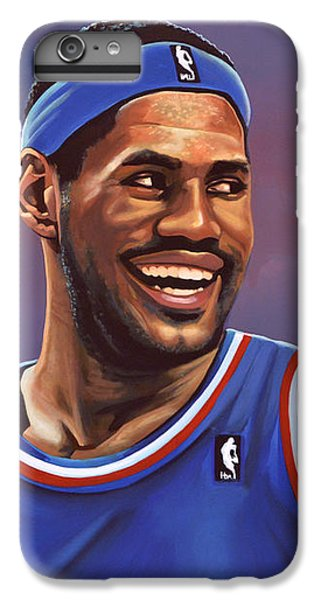 Lebron James  IPhone 6 Plus Case by Paul Meijering