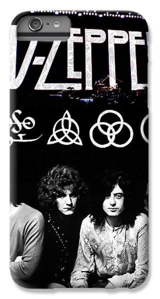 Rock And Roll iPhone 6 Plus Case - Led Zeppelin by FHT Designs