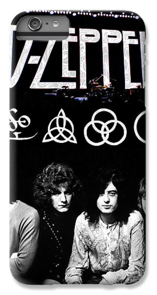 Led Zeppelin IPhone 6 Plus Case by FHT Designs