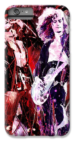 Led Zeppelin - Jimmy Page And Robert Plant IPhone 6 Plus Case