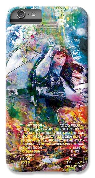 Led Zeppelin Original Painting Print  IPhone 6 Plus Case