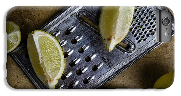 Lime iPhone 6 Plus Case - Lemon And Grater by Nailia Schwarz