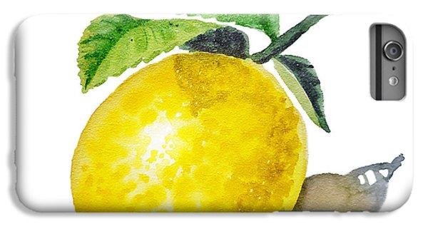 Artz Vitamins The Lemon IPhone 6 Plus Case