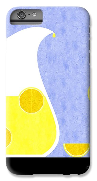Lemonade And Glass Blue IPhone 6 Plus Case