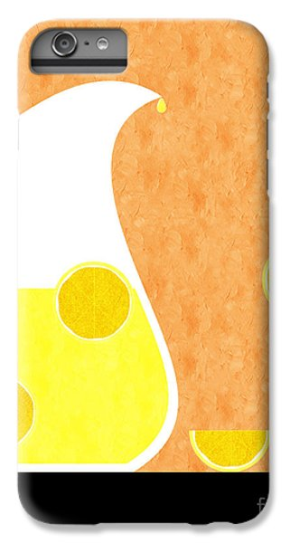 Lemonade And Glass Orange IPhone 6 Plus Case