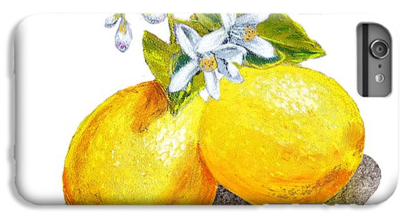 Lemons And Blossoms IPhone 6 Plus Case