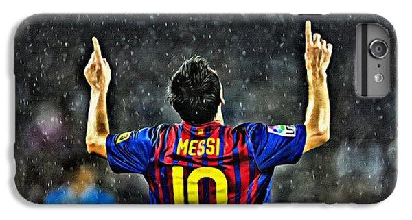 Leo Messi Poster Art IPhone 6 Plus Case