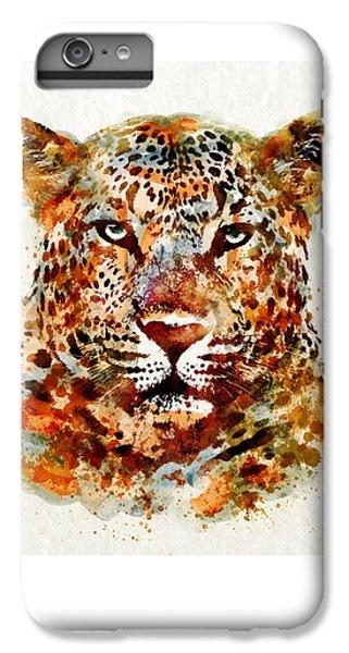 Leopard Head Watercolor IPhone 6 Plus Case