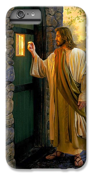 Christ iPhone 6 Plus Case - Let Him In by Greg Olsen