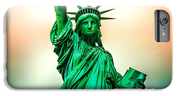 Statue Of Liberty iPhone 6 Plus Case - Liberty And Beyond by Az Jackson