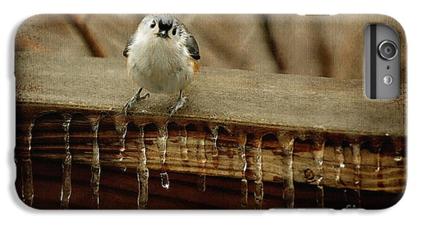 Titmouse iPhone 6 Plus Case - Life Can Be Tough by Lois Bryan