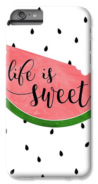 Life Is Sweet - Watermelon IPhone 6 Plus Case