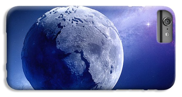 Planets iPhone 6 Plus Case - Lifeless Earth by Johan Swanepoel