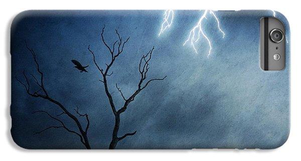 Raven iPhone 6 Plus Case - Lightning Tree by Sebastien Del Grosso