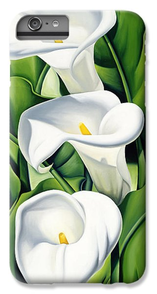 Lily iPhone 6 Plus Case - Lilies by Catherine Abel